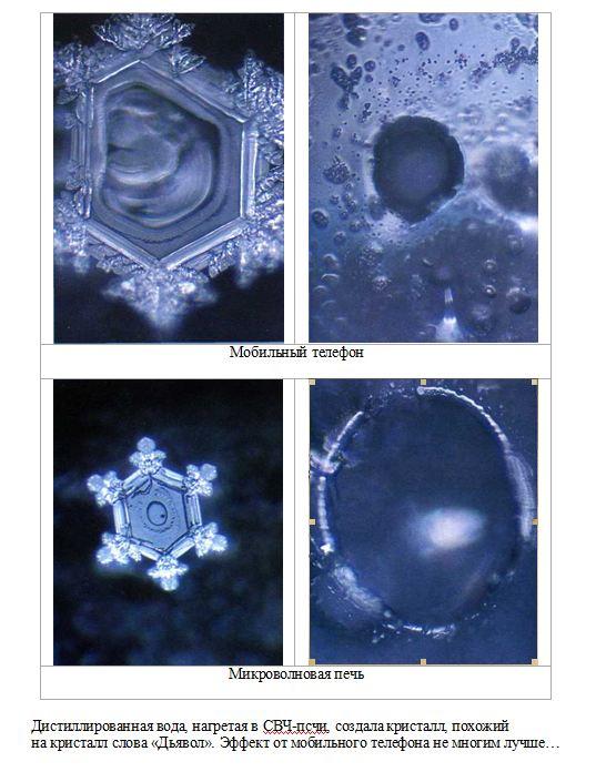 Эмото Масару кристаллы, коллекция