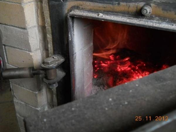 Пиролизная установка, русская печь процесс